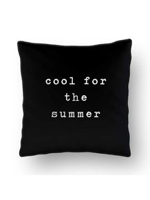 ALMOFADA---COOL-FOR-THE-SUMMER---BLACK