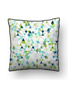ALMOFADA---ABSTRACT-TRIANGLE-GREEN-AND-GOLD