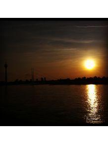 sunset-dusseldorf