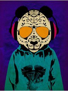 panda-skull-dj