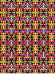 geometric-eyes-pattern