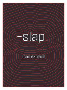 onomatopeia--slap