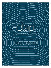 onomatopeia--clap