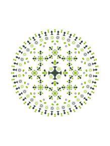 mandala-verde
