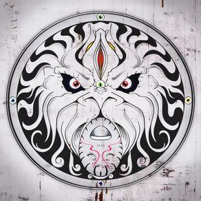 shield-lion-mask-face