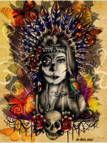 aruena--indian-mexican-skull