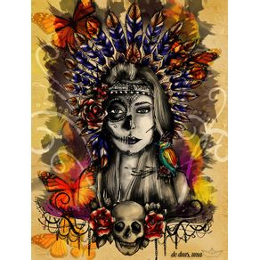 aruena--indian-mexican-skull