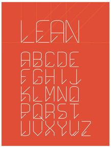 lean--alphabet