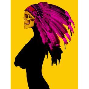 yellow-skull-girl