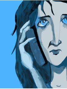 blue-woman