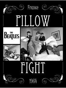 beatles--pillow-fight