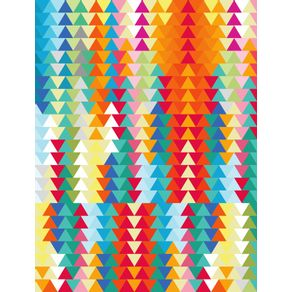geometric-triangles-sunset