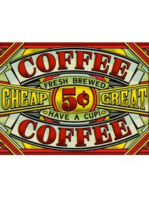 old-coffee-sign
