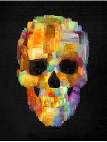 skull-grunge-paint-black