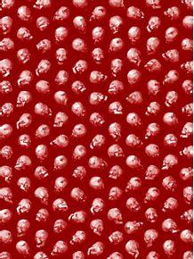 lowpoly-skull-pattern-red