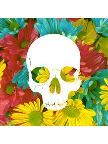 skull-flowers-summer