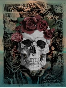 skull-and-roses
