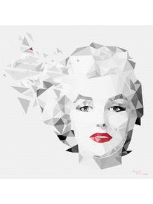 marilyn--polygon-art