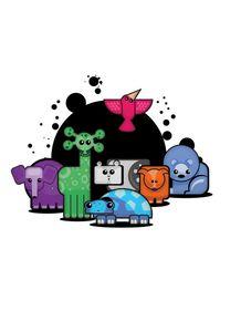 animais-coloridos