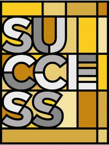success--stained-glass
