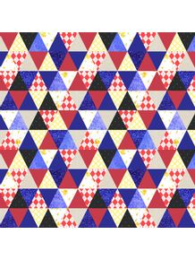 triangle-patchwork