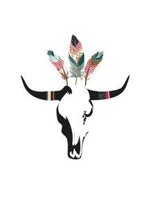 fancy-cow-skull