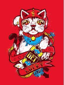 gato-da-sorte-vermelho