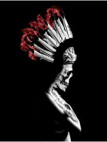 indian-skull-girl