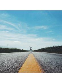 pulando-estrada