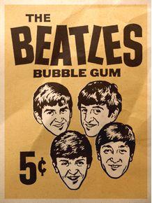 beatles-bubble-gum