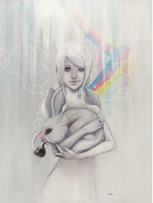 girl-and-bunny