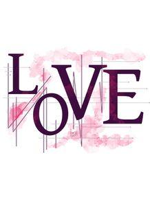 love-in-geometric-purple