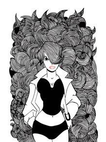 musa-dos-cabelos-compridos-em-peb