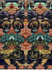 arabesco-folhagem