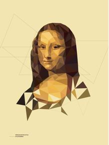 monalisa-in-poly-style