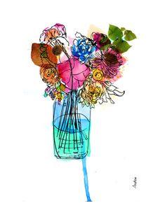 flores-em-aquarela