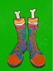 clown-feet