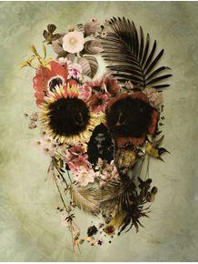 garden-skull-light