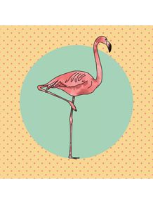 perky-yellow-flamingo