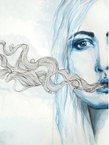 blowing-smoke