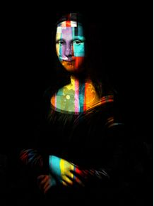 monalisa-colorful