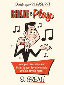 shave-and-play-spoof-vintage-ad