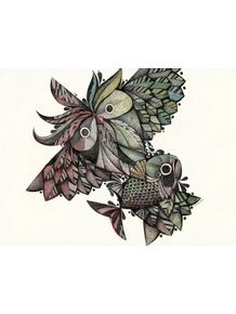 owl-and-fish
