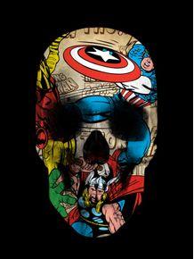 comics-skull