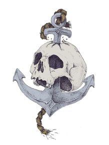 skull-in-archor