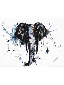 elefante-em-aquarela