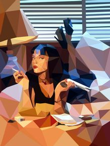 pulp-fiction--lowpoly
