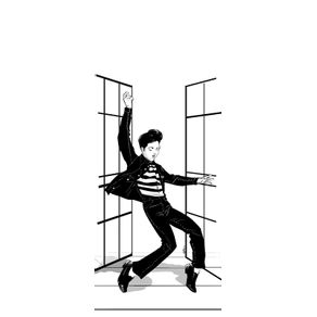 classic-rockelvis-presley--jailhouse-rock