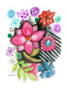 quadro-aquarela-em-flor
