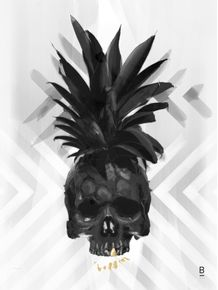 quadro-pineapple-skul-2